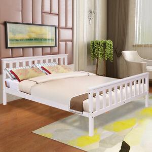 holzbett doppelbett bettgestell kiefer bettrahmen. Black Bedroom Furniture Sets. Home Design Ideas