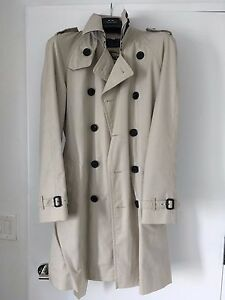 c63ffc8e400d Image is loading M-UK-size-Burberry-Trench-Men-Chelsea-Long-