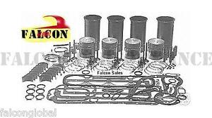 Ford-Tractor-201-Diesel-Engine-3-cylinder-Rebuild-Kit-no-liners