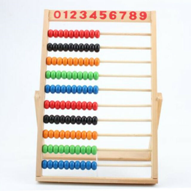 Toy Preschool  Beads Wooden Abacus 1 Pcs Children Computing Education Learn