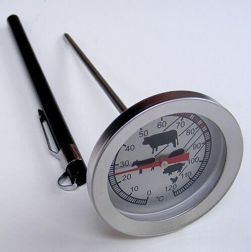 Köcher Bratenthermometer Grillthermometer LT-101 Einstichthermometer Edelstahl