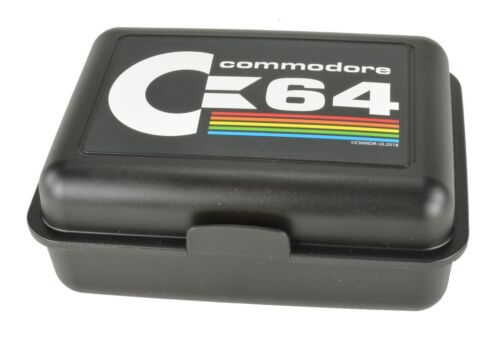 Commodore 64 Brotdose C64 Logo NEU & OVP