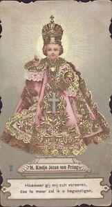 Prag-Jesus-Nino-Cuadro-Santos-Amria-Imagen-Milagrosa-Bohemia-Koloriert-B-6664