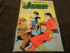 1963 ARCHIE Comics ADVENTURES Of The JAGUAR #12 - Rare Silver Age! - VG+