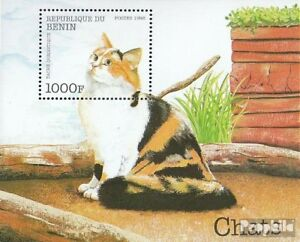 Never Hinged 1998 Cat Breeds Benin Block42 Unmounted Mint Animal Kingdom