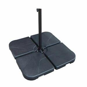 4-Piece-Cantilever-Offset-Patio-Umbrella-Base-Filling-Umbrella-Weight-Stand-Sand