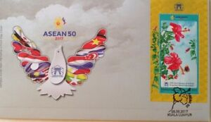 Malaysia FDC with Miniature Sheet (08.08.2017) - 50th Anniversary of ASEAN