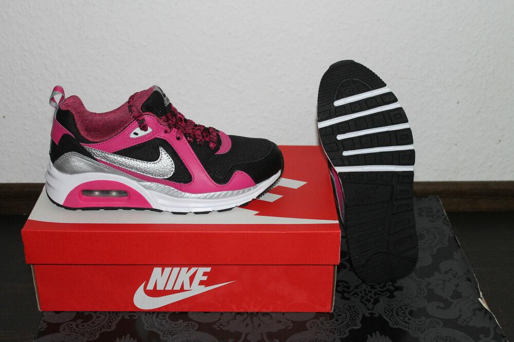 Nike Air Max trax Femmes running chaussures noir rose argent taille 36,5; 38; 38,5- Chaussures de sport pour hommes et femmes