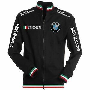shirt écharpe Moto Col Polo Patch Sweat Chemise Tricolore Bmw Black Noir 4Fw6THW