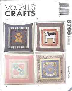 8706-UNCUT-Vintage-McCalls-Pattern-Decorative-16-034-Square-Pillows-SEWING-FF-OOP