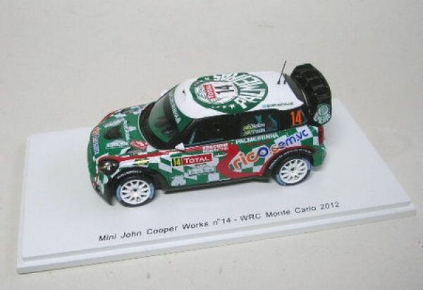 Mini John Cooper Works WRC No. 14 Rally Monte Carlo 2012