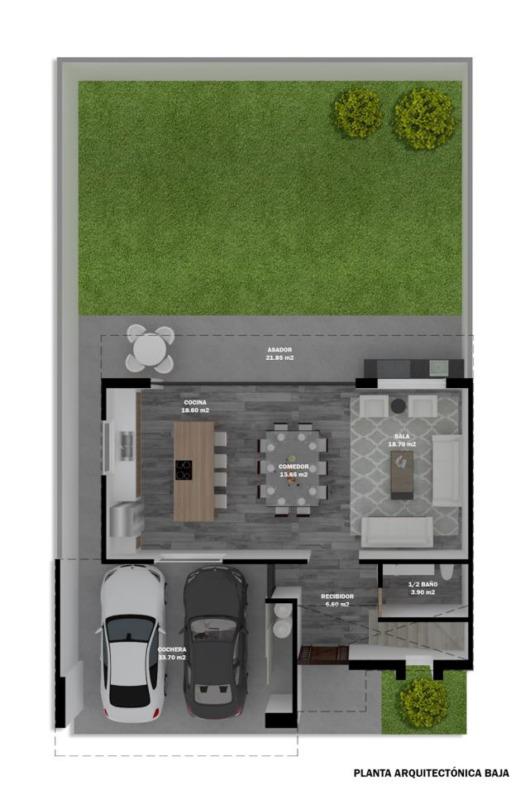 Casa en Pre-venta en Castaños del Vergel