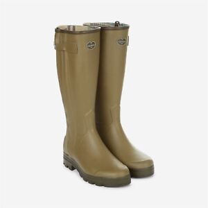 Light Le Wellington Boots Chasseur Chameau Green Jersey qq1Hp7