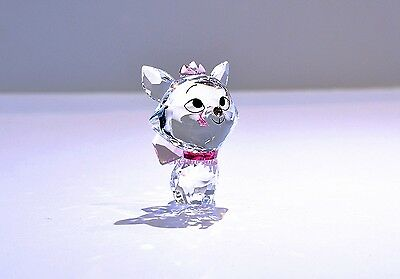 Swarovski Disney Cuties Marie Cat Pink Bow 5004738 Brand New In Box