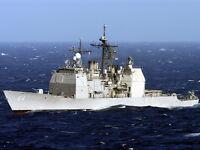 8x10 Photo: Uss Gettsyburg, Ticonderoga-class Guided-missile Cruiser