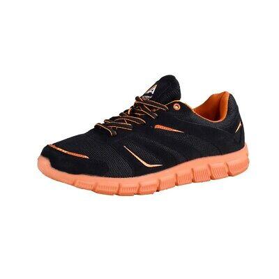 Kleidung & Accessoires Sneaker Action Activity Herren Fitness Schuhe Schwarz/orange Angenehm Zu Schmecken