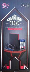 Vertical Stand Pour Ps4 Avec Ventilateur De Refroidissement, Double Stock De Charge, Hub Usb, Disque Sh-afficher Le Titre D'origine