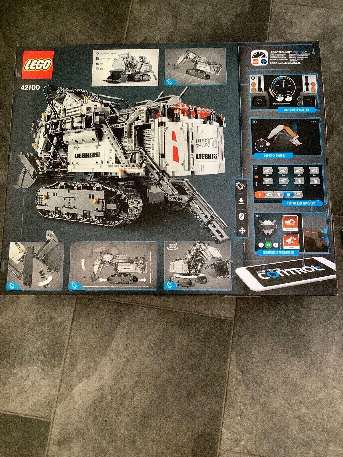 LEGO Technic 42100 Liebherr R 9800 Excavator  (New & Sealed)