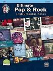Ultimate Pop & Rock Instrumental Solos for Strings  : Cello, Book & CD by Alfred Music (Paperback / softback, 2013)