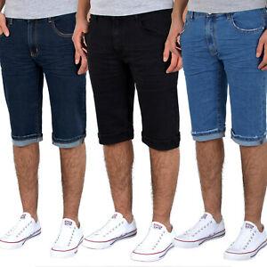 Herren Kurze Hose Basic Bermuda Jeans Herren Kurze Shorts Jeans Shorts A380