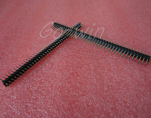 50PCS-2-54mm-2-x-40-Pin-Male-Double-Row-Pin-Header-Strip-New-High-Quality