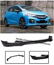 For 15-16 Honda Fit GK5 Jazz JDM Mugen Style Front Bumper Lower Chin Spoiler Lip