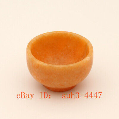 Jade Cups Chinese Hand Carved Jade Tea Cups Natural Jade Small Tea Bowls A02