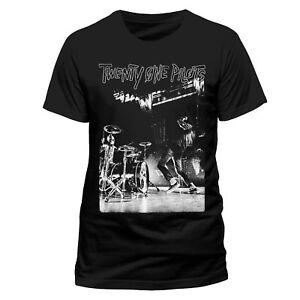 Official-Twenty-One-Pilots-T-shirt-Back-Stage-NEW-Black-L-XL-21-Pilots
