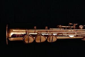 Yanagisawa S-WO2 (SWO2) Soprano Saxophone Bronze