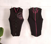 Liquid Force Ghost Comp Ladies Wakeboard Impact Vest S M L Pink Black 64076