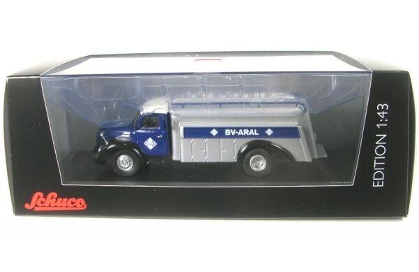 Magirus s6500 camión cisterna Aral (petrolero)