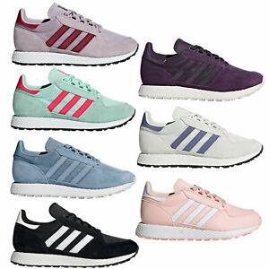 Adidas-Originals-Bosque-Grove-Damen-Zapatillas-Bajo-de-Deporte-Gimnasia
