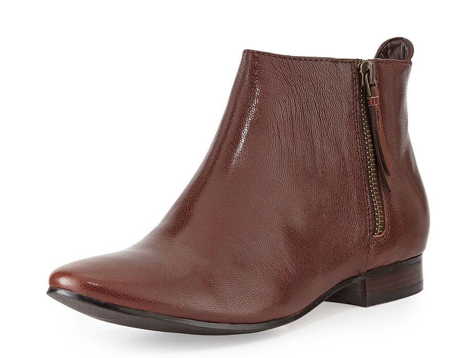 New Cole Haan Belmont Leather Women Booties Sz 9.5 (MSRP )