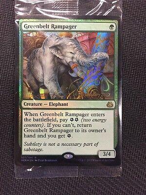 Greenbelt Rampager MTG Aether Revolt NM English
