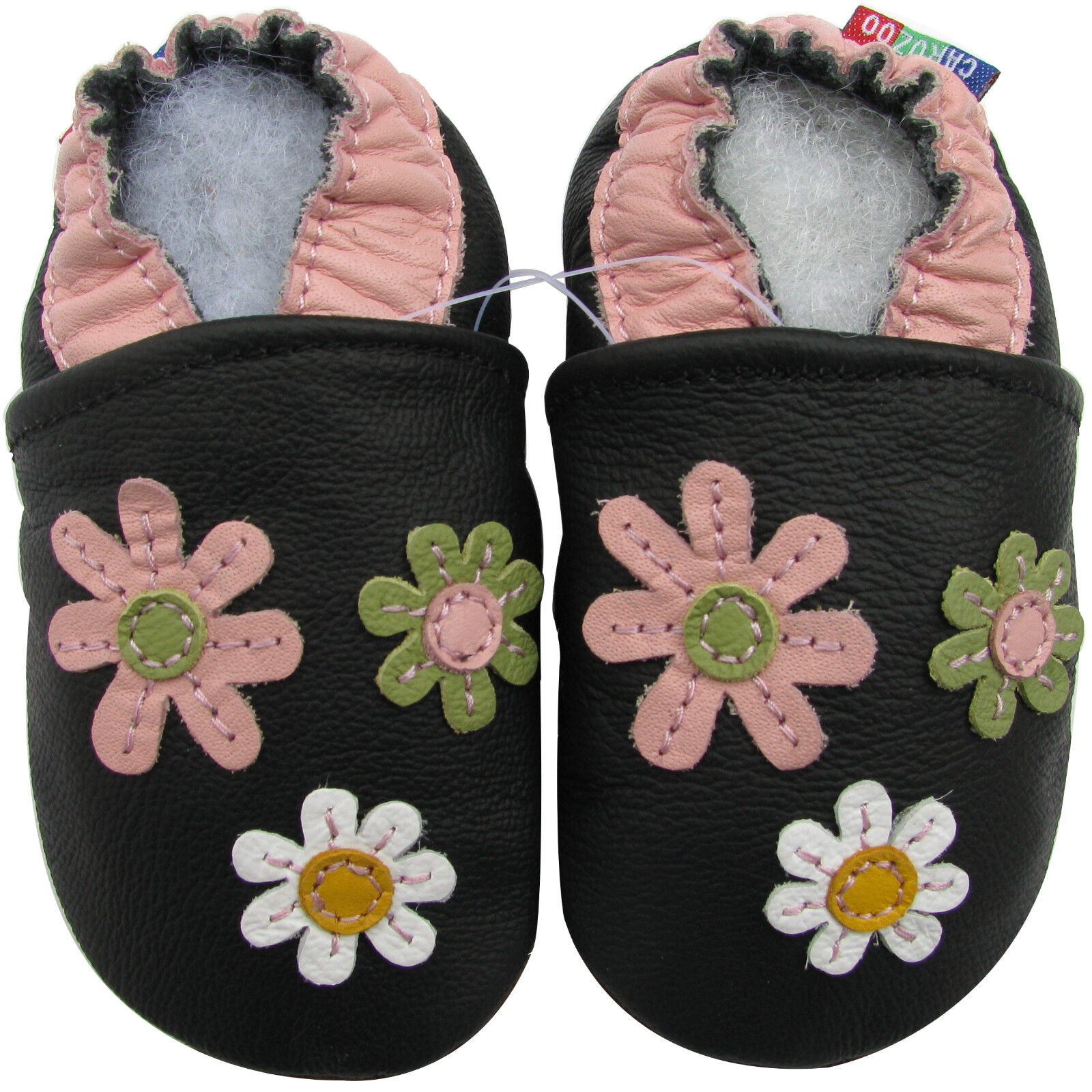 carozoo baby soft sole leather slippers best seller prewalkers up to 8 years