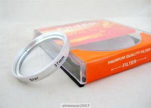 37 37MM 8 Point 8PT Star Cross Light Filter For DSLR SLR Camera Camcorder Lens