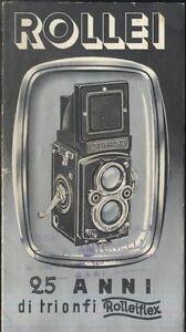 Capable 25 Anni Di Trionfi Rolleiflex Rollei Libretto Pubblicitario 1955 Acheter Un Donner Un
