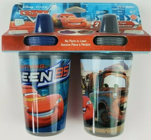 The First Years Disney Pixar Cars Insulated Sippy Cup 9 Oz Baby Cup 2pk