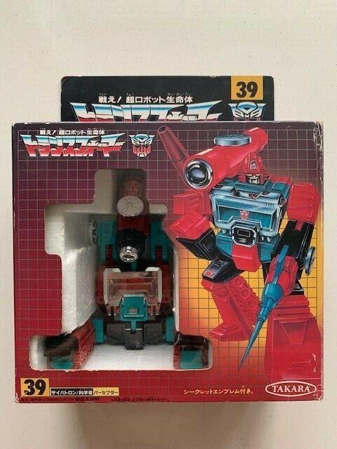 Sensores de transformadores G1 Takara Hasbro 39 MIC (no reeditado)