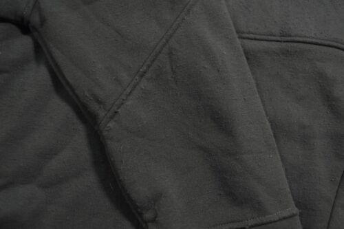 D Men/'s Hoodie Rvca TACTIC Dark Charcoal Zip Up Face Cover Sweater Sweatshirt