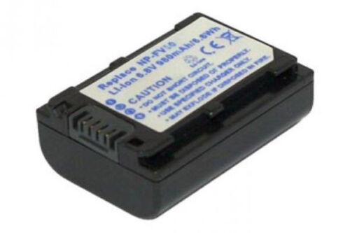 Batería 980mah para Sony dcr-sr100 dcr-sr15e dcr-sr190e dcr-sr200 1 año de garantía
