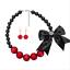 Fashion-Jewelry-Crystal-Choker-Chunky-Statement-Bib-Pendant-Women-Necklace-Chain miniature 91