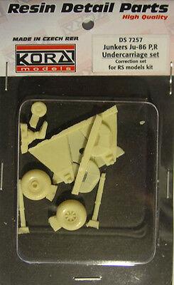 Kora Models 1/72 Resin Junkers Ju-86 P,R Undercarriage set for (RSMOD)
