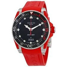 Gucci YA136309 Men's Dive Black Quartz Watch