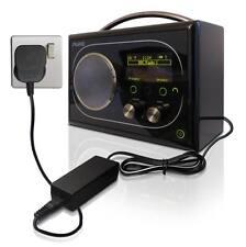 DC 6V Rete Alimentatore Adattatore Caricabatterie Adattatore per il flusso puro di evocare DAB Radio