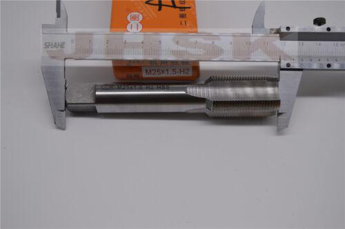 (1pcs) Left hand 25mm x 1.5mm Metric Taper Tap M25 x 1.5
