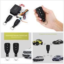 Car Remote Control Central Kits Door Lock Locking Keyless Entry Universal System