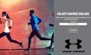 10% OFF Under Armour Promo Coupon Code Exp. 1 30 19 Online Only  acf9f0bffe