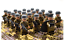 miniature 8 - 21pcs WW2 Minifigures Army Soldiers British Russia Japan US Military
