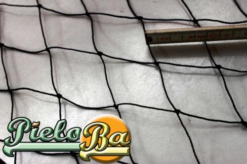 Geflügelzaun Geflügelnetz Weidezaun  15 m x 1,45 m schwarz  Maschenweite 5 cm